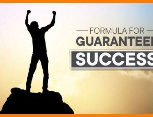 GUARANTEED SUCCESS SECRET
